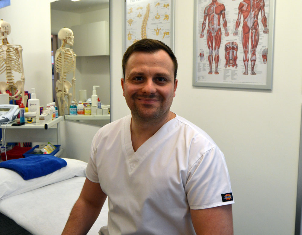 Mark Hutton Osteopath In Birmingham