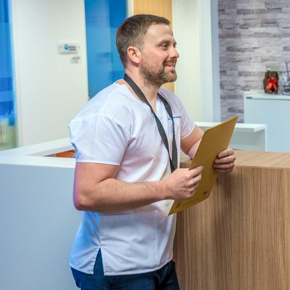 Mark Hutton Registered Osteopath